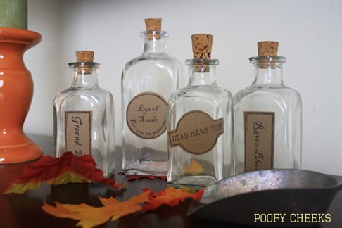Apothecary Potion Labels and FREE Printable