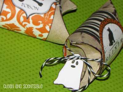 Halloween Pillow Boxes