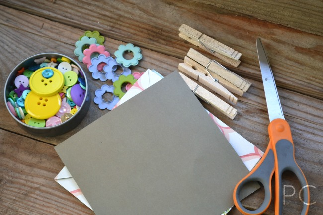 Paper Pinwheel Tutorial - Spring Banner