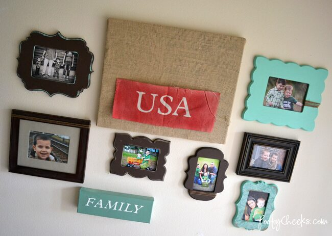 New Entryway Picture Wall – How To Hang Em'!