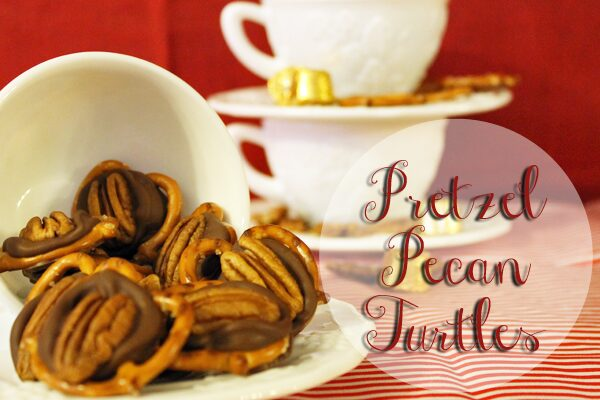 Pretzel Pecan Turtles by Neathering Our Fest