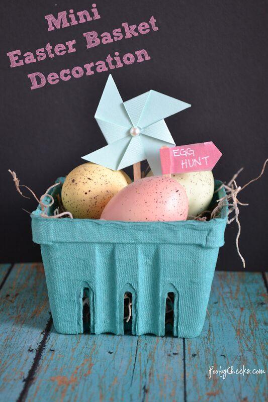 Mini Easter Basket Decoration