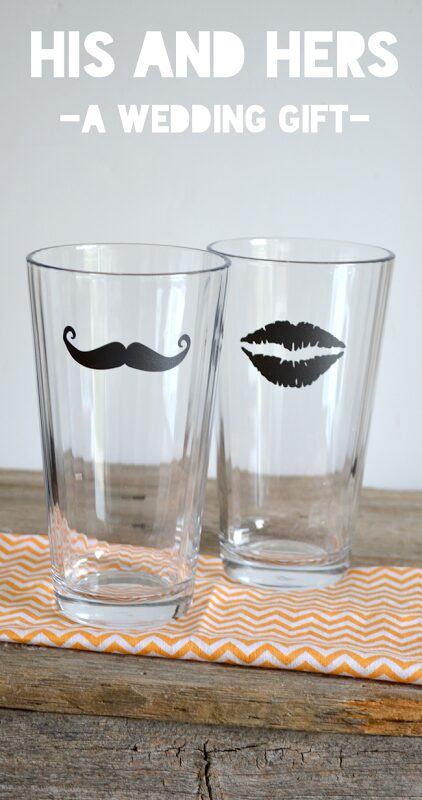Wedding Present Idea–His & Hers Glasses