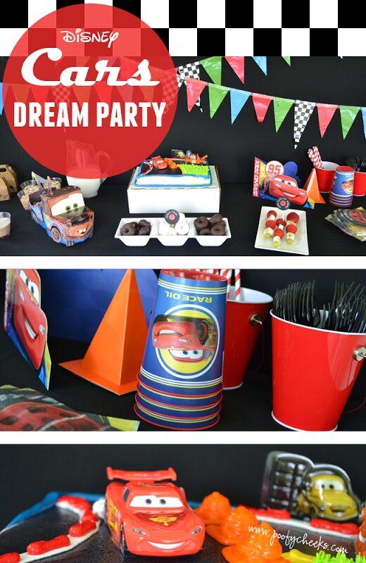 Disney Cars Dream Party Celebration