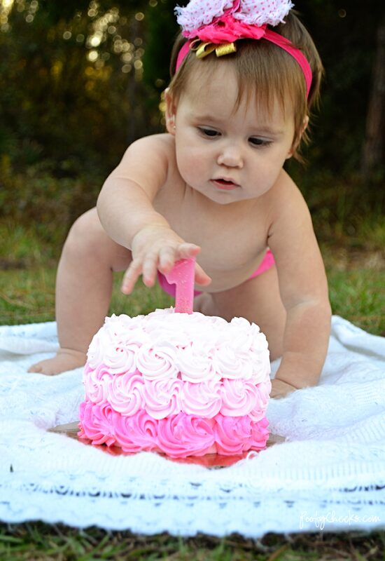 Delilah's 1st Birthday Party – Pink and Gold Party