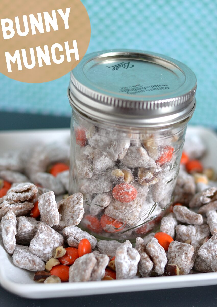 Bunny Munch Snack Recipe