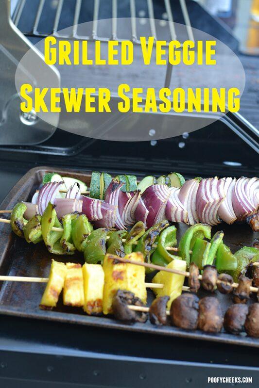 Grilled Veggie Skewers