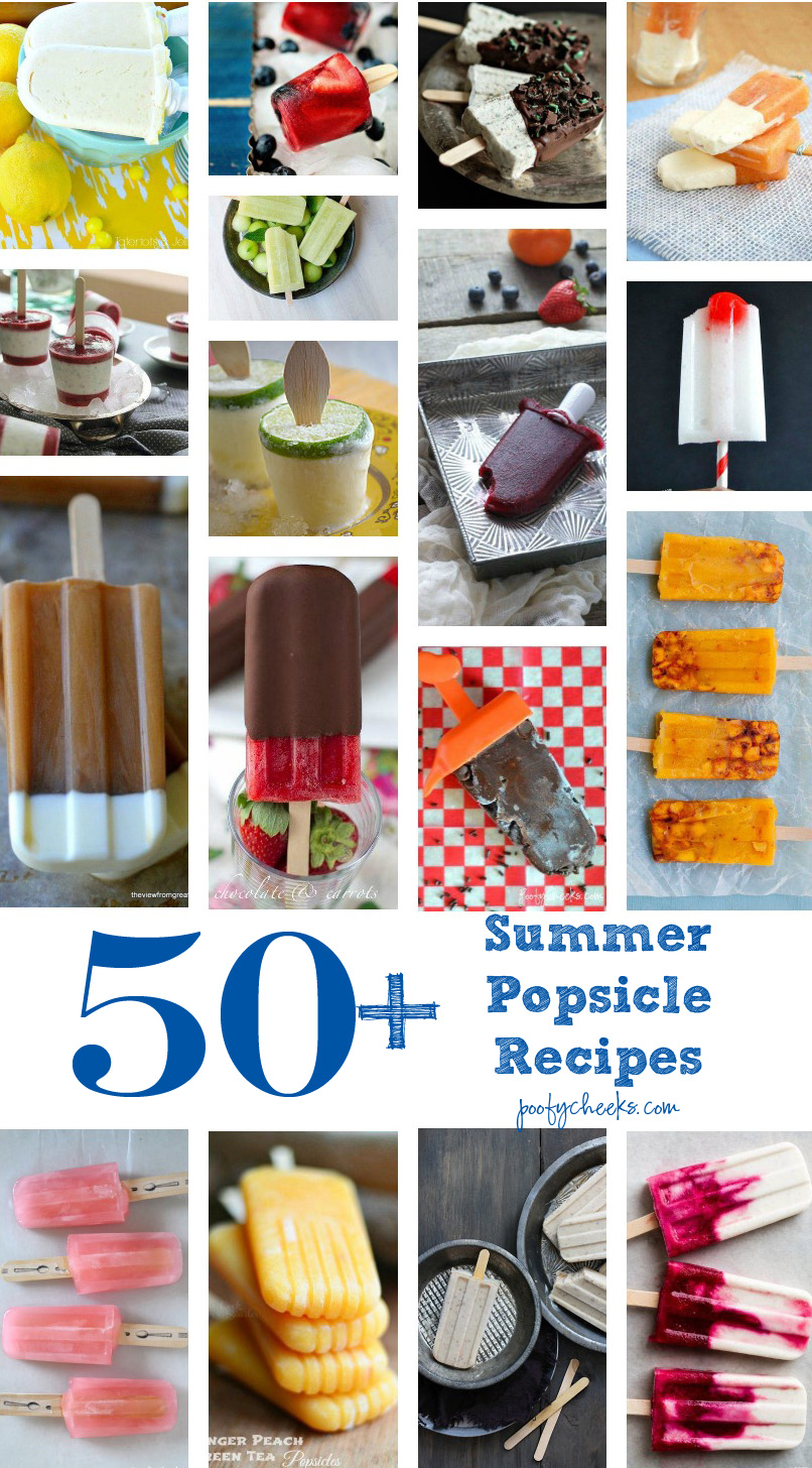 50+ Popsicle Recipes