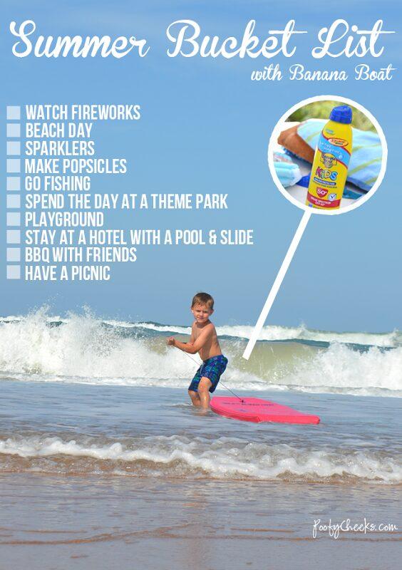 Summer Fun in the Sun–Sunscreen Required!