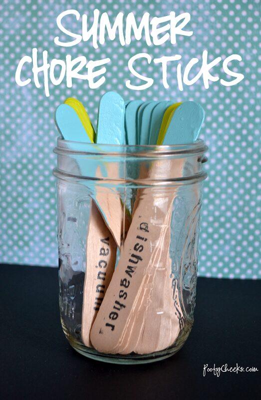Summer Chore Sticks