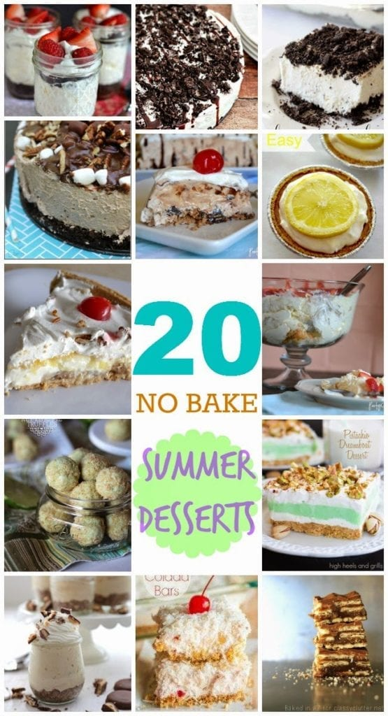 20 No-Bake Summer Desserts