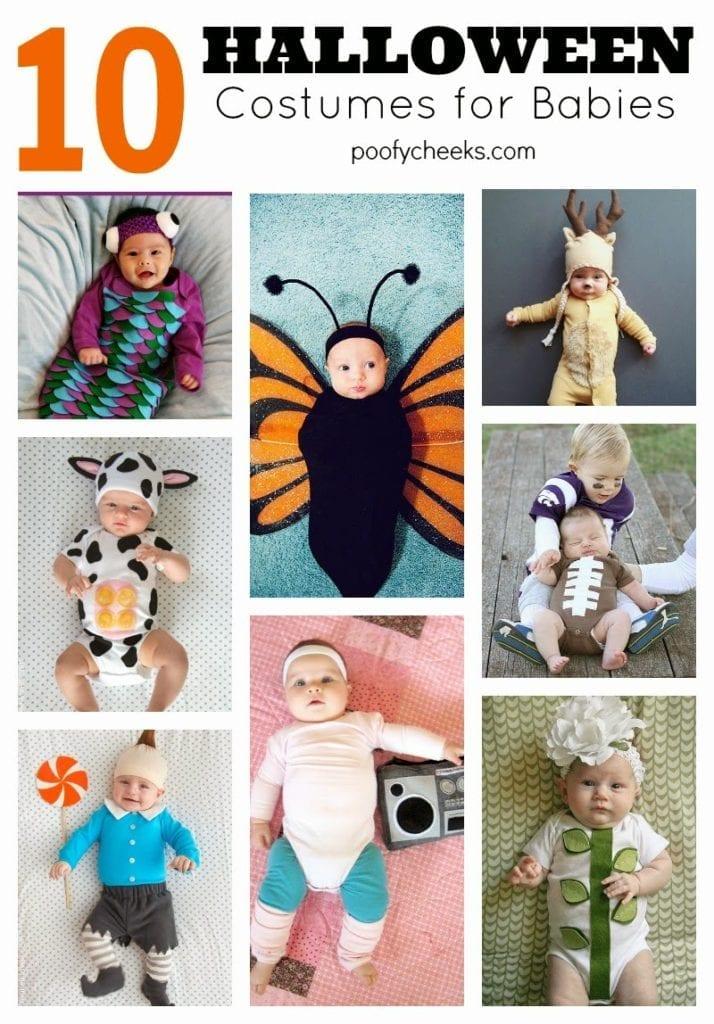 10 Halloween Costumes for Babies
