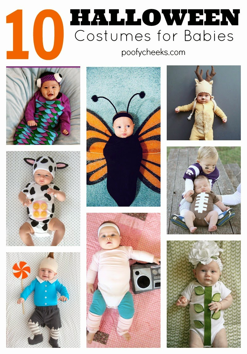 10 Halloween Costumes for Baby