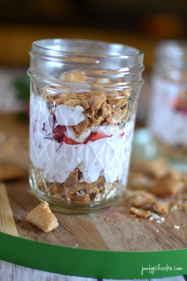 Stawberry On-the-Go Parfait