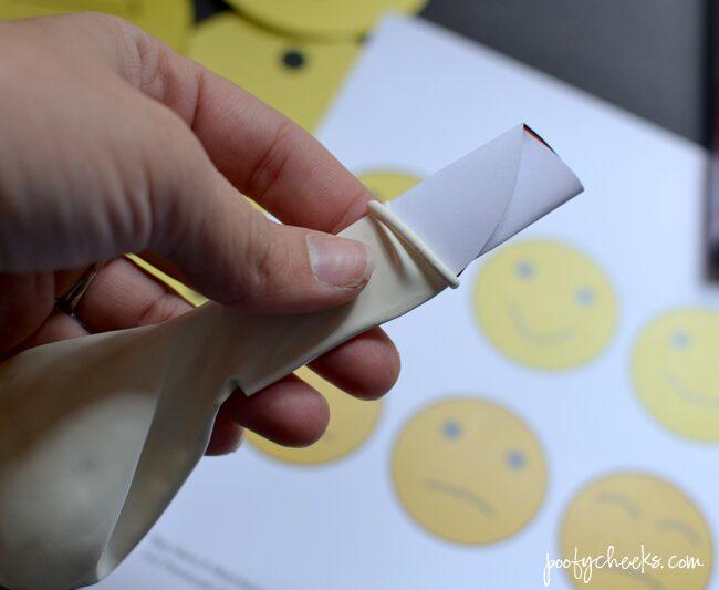 Big Hero 6 Balloon Matching Game - free printables