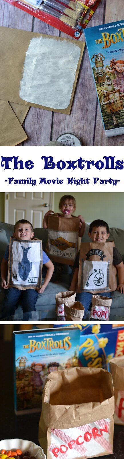 The Boxtrolls Family Movie Night Party