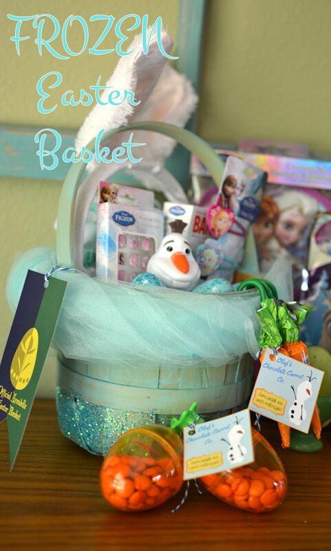 FROZEN Easter Basket and Printables