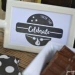 Birthday S'mores Bar free Printables