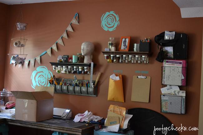 Basement Craft Room