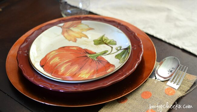 Visit our home decorated in aqua and oranges - Fall Blog Home Tour @poofycheeksblog