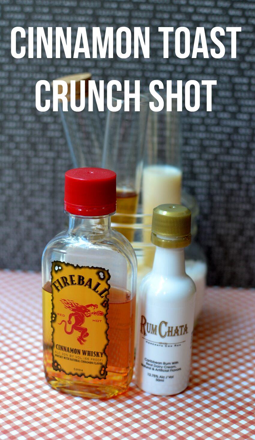 Cinnamon Toast Crunch Shots
