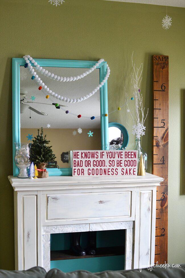 Colorful Christmas Decor Home Tour – Living Room