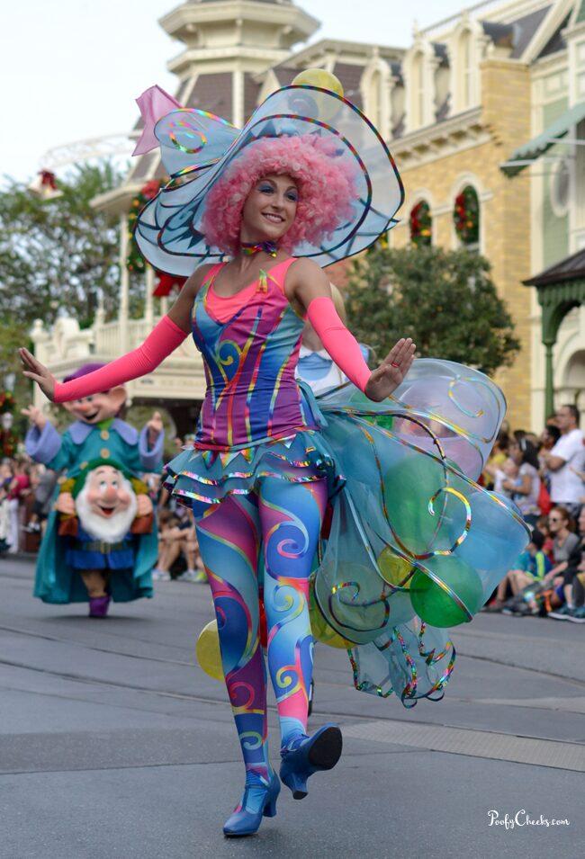 Disney Vacation - Festival of Fantasy Parade Tips