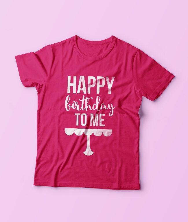 Happy Birthday Cut File Design
