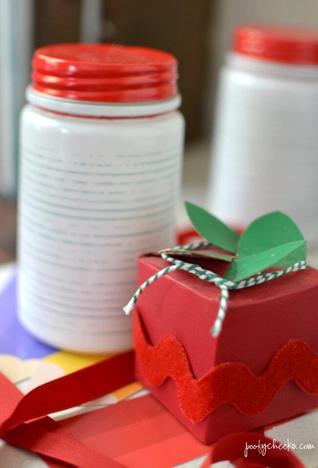 teacher gift jar