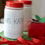 teacher gift jar
