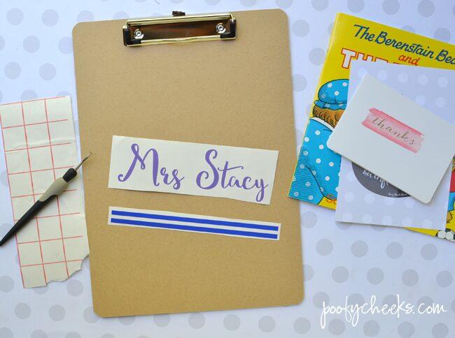 Personalized Teacher Gift Clipboards – Teacher Appreciation