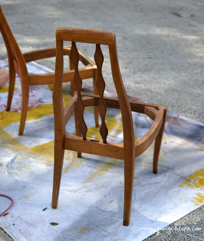 Painting Wooden Furniture with a Paint Sprayer
