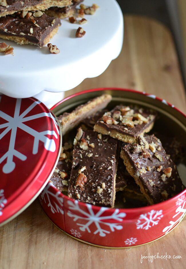 Homemade Graham Cracker Toffee