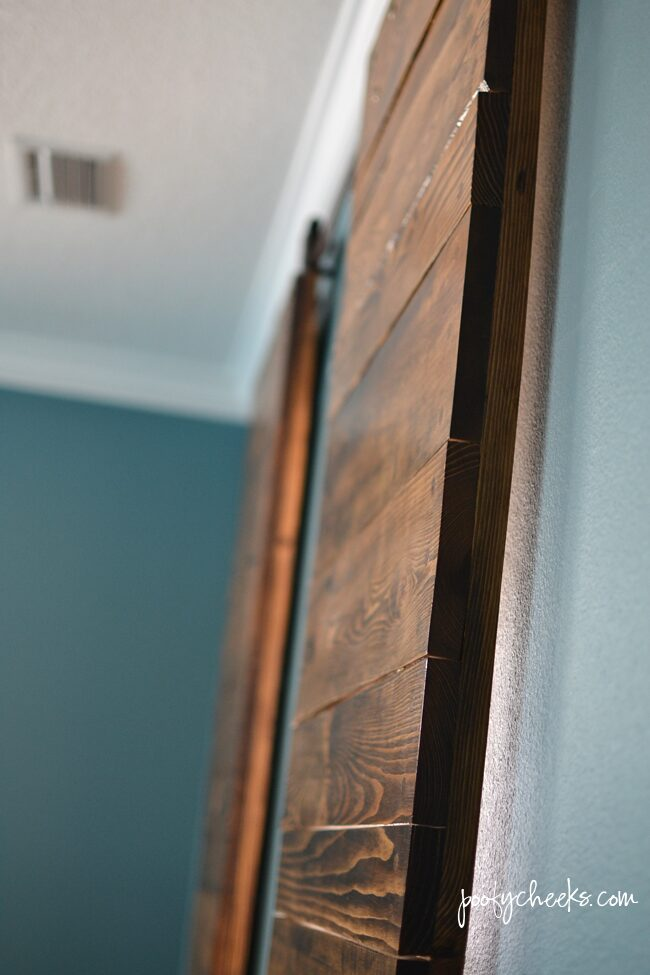 Barn Doors on an Authentic Barn Door Track