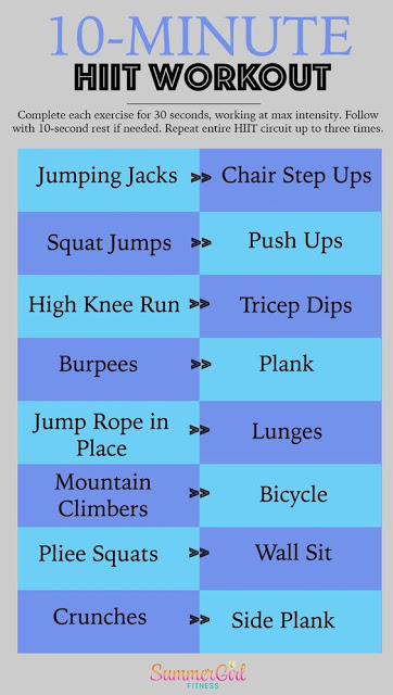 18+ Quick No Equipment Needed Excercise Routines