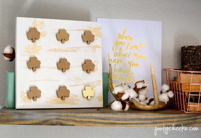 Clover Specimen Décor – St. Patrick's Day Craft