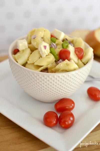 Tortellini Pasta Salad Side Dish – Recipe