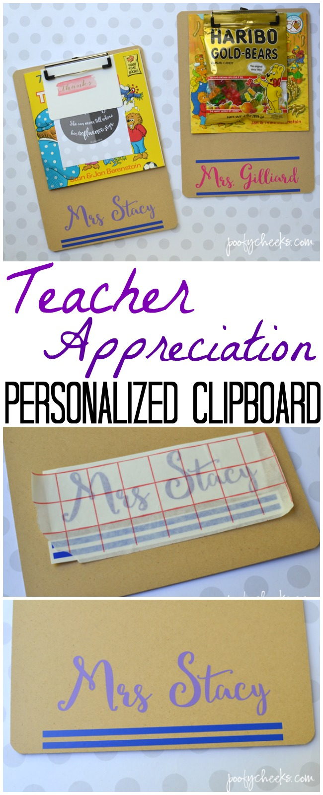 teacher gift clipboard