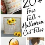 Fall and Halloween Cut Files