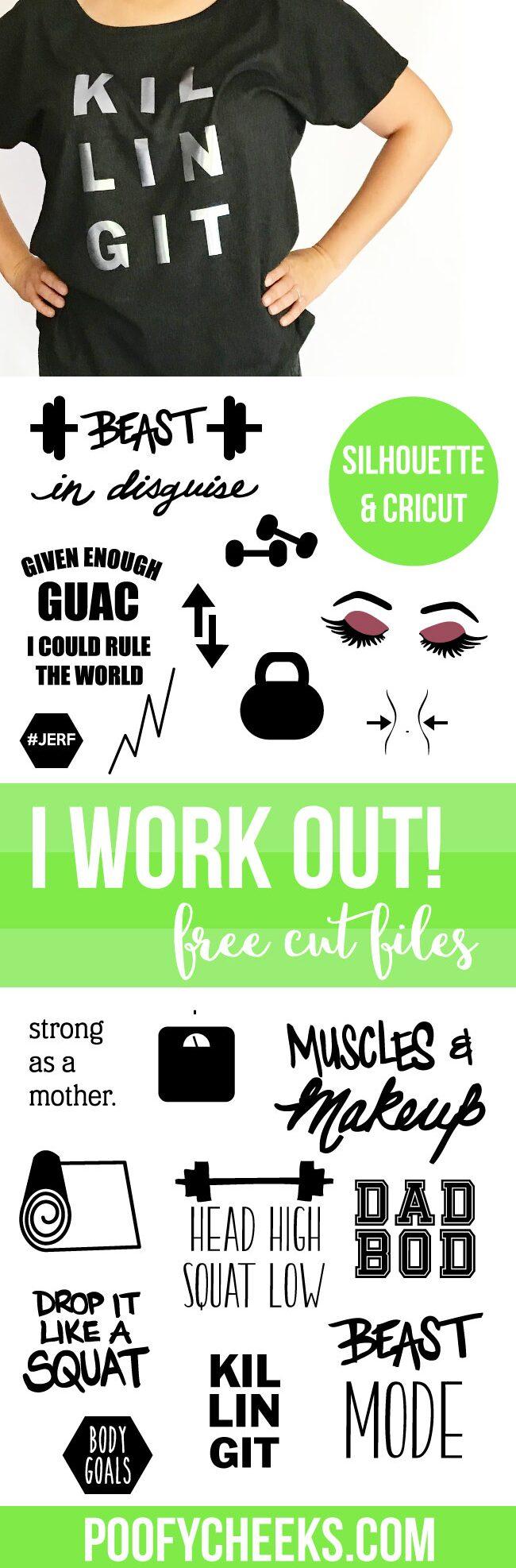 Fitness Cut Files