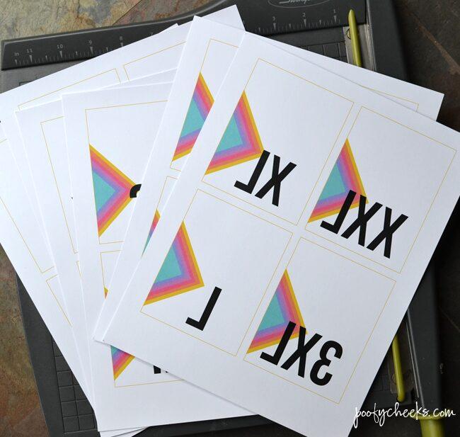 LuLaRoe Size Printables