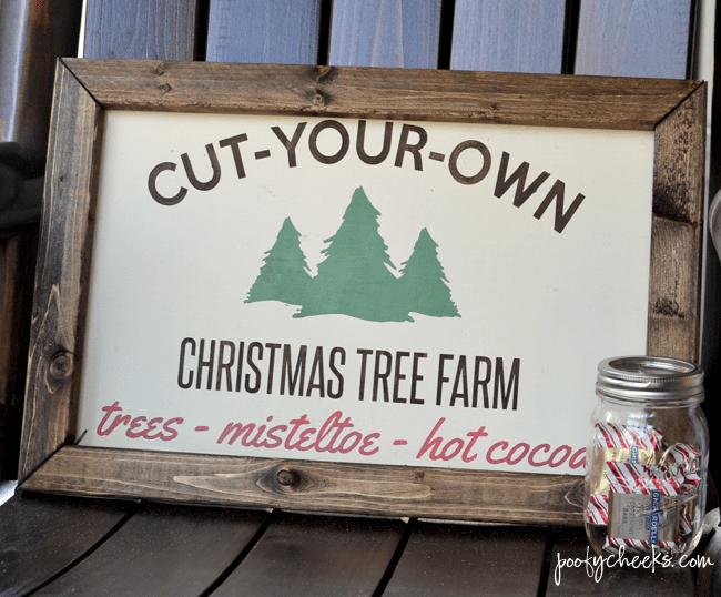 Christmas Tree Farm - Free Cut File