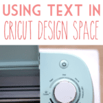 Creating text designs and welding cursive fonts in Cricut Design Space.