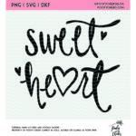 Sweet Heart Cut File