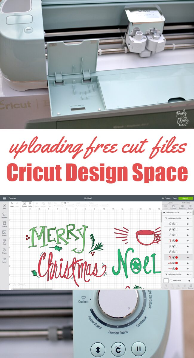 Uploading designs into Cricut Design Space. Using SVG and other files in design space.