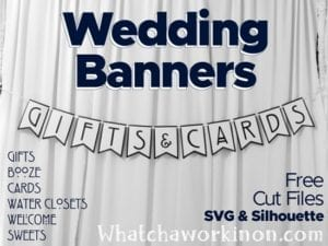 Wedding Banners SVG Files
