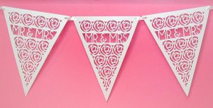 Mr. and Mrs. Pennant Banner