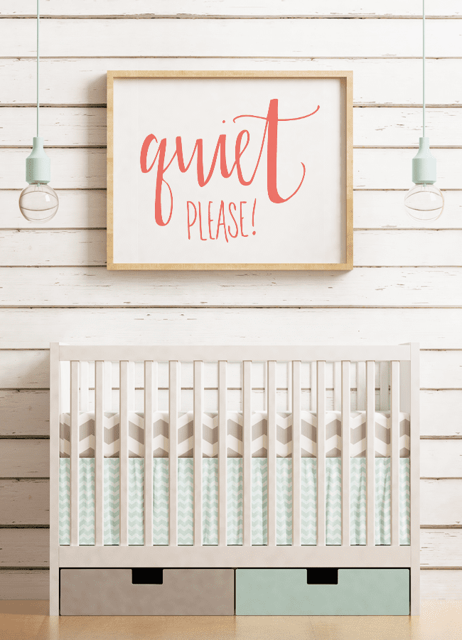Quiet please cut file for Silhouette and Cricut machines. Grab the DXF, PNG and SVG file. Quiet please cut file for nursery, library or quiet spaces.
