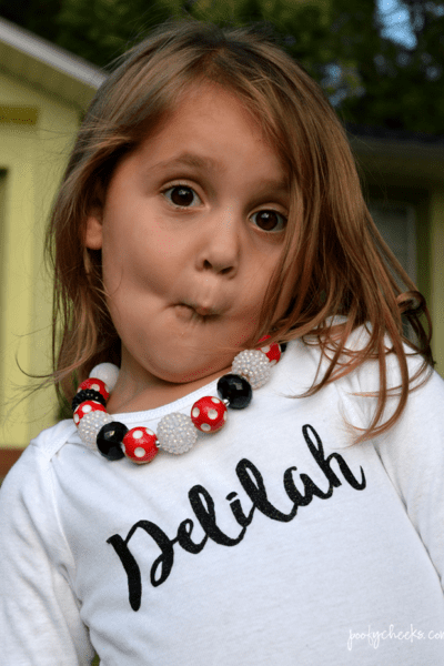 Bubblegum Necklace Tutorial – Chunky Necklace for Girls