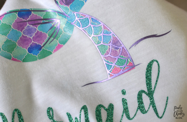 Mermaid Tale Cut File - Mermaid Vibes with this free cut file from PoofyCheeks.com #cricut #silhouette #cutfile